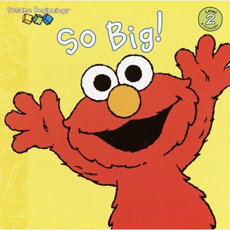 Sesame Street Big Dot - So Big! (Sesame Street) (Board Book)