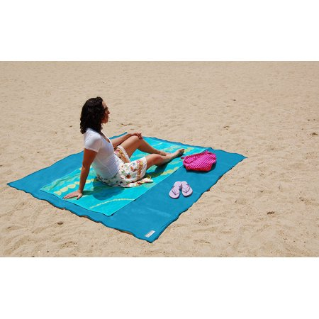 Sand Free Beach Mat in 3 Colors - - Cheap Straw Beach Mats