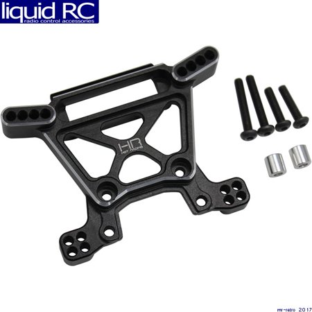 Hot Racing RUF2801 RUF2801 Aluminum Front shock tower Rustler 4X4