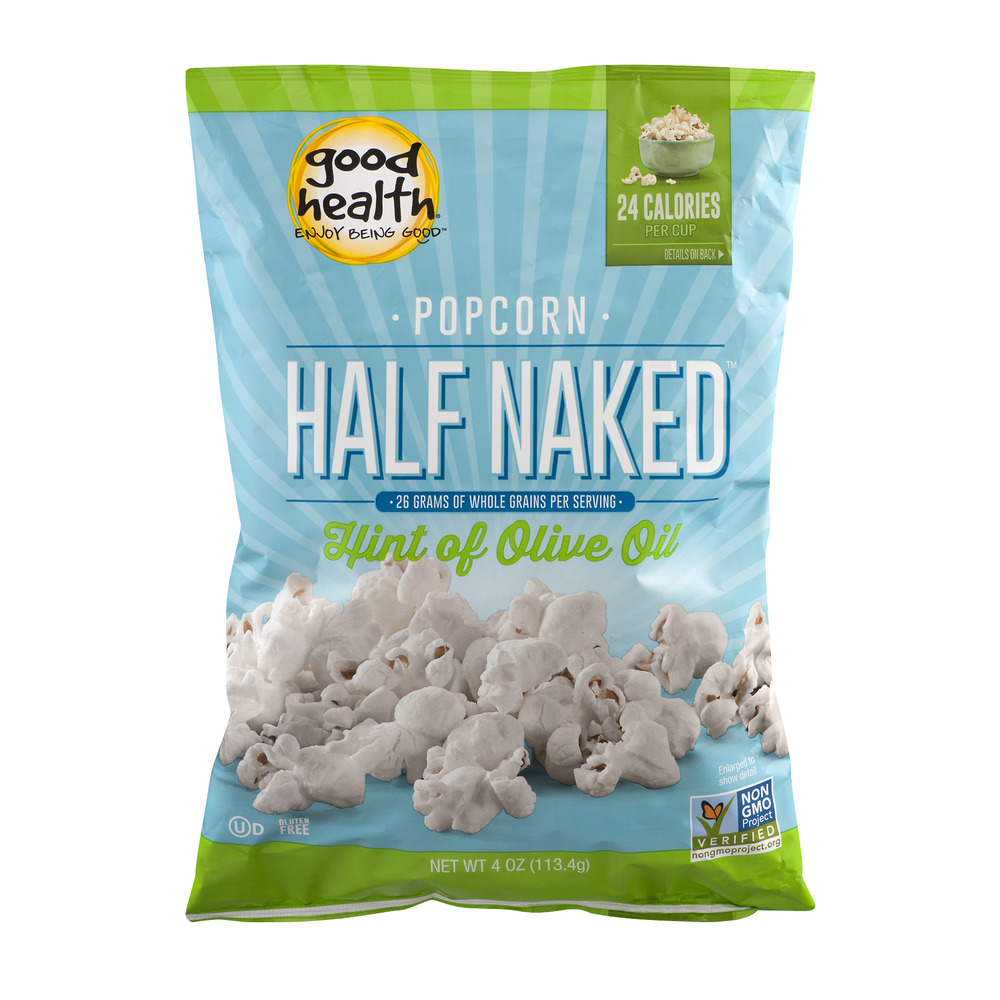 Good Health Half Naked Popcorn Hint of Olive Oil, 4.0 OZ