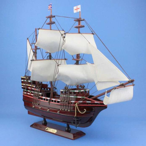 Handcrafted Nautical Decor Mayflower Model Ship
