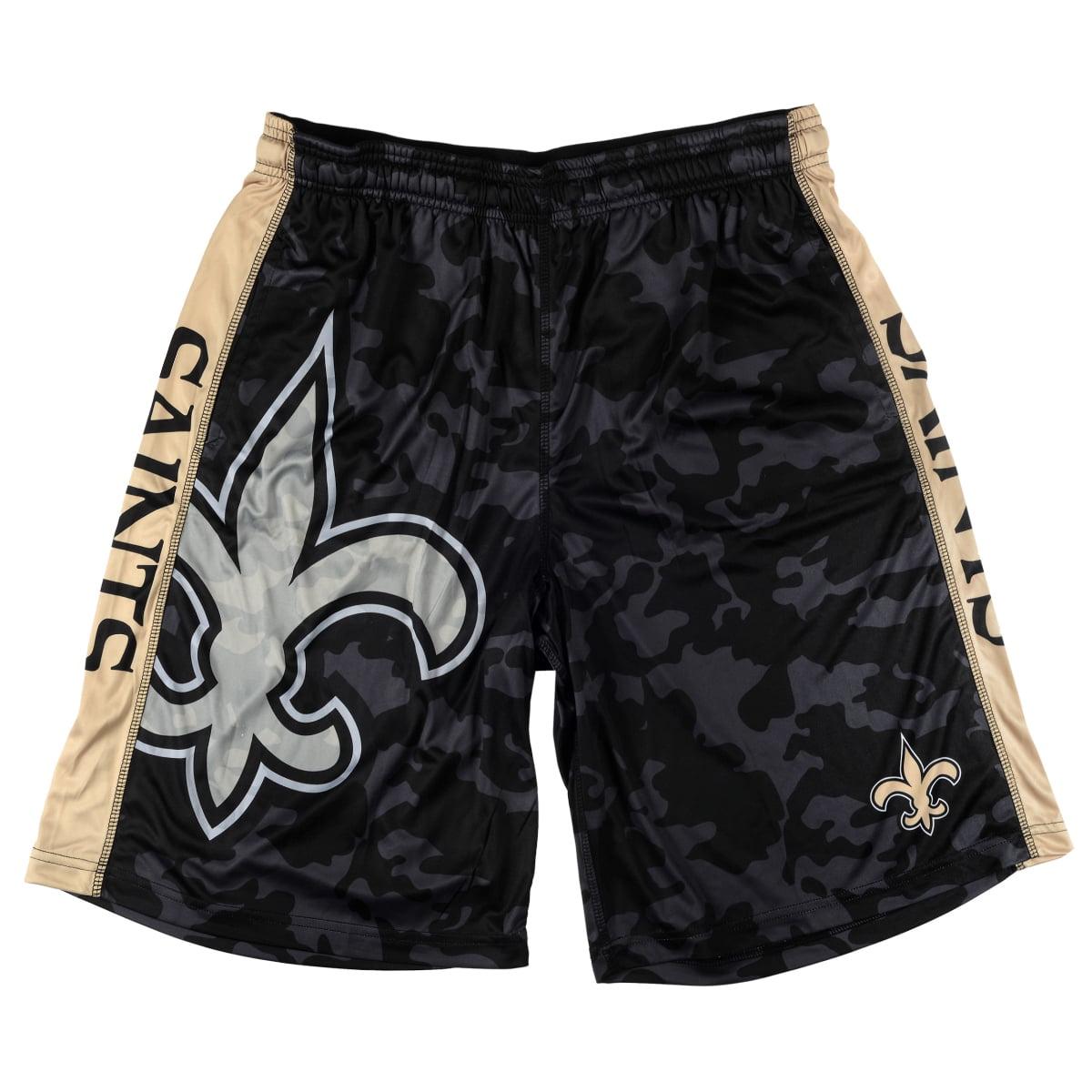 "New Orleans Saints NFL ""Big Logo"" Polyester Men's Shorts"