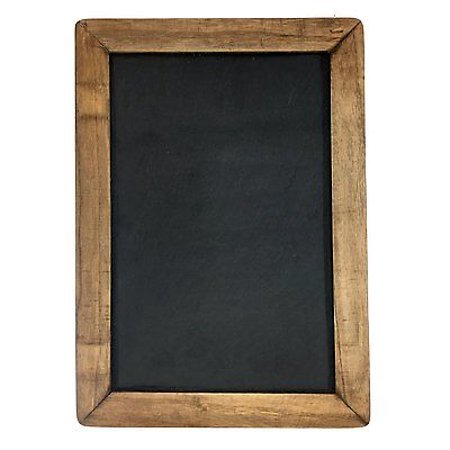 Vintage Framed Slate Kitchen Chalkboard (10\