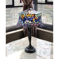 Tiffany Style 1-light Antique Bronze Table Lamp