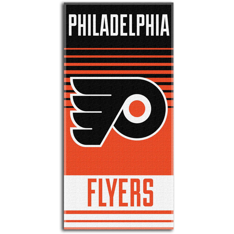 "NHL ""Flow"" 30"" x 60"" Beach Towel, Philadelphia Flyers"