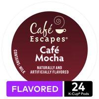 Caf Escapes Caf Mocha K-Cup Pods, 24 Count for Keurig Brewers