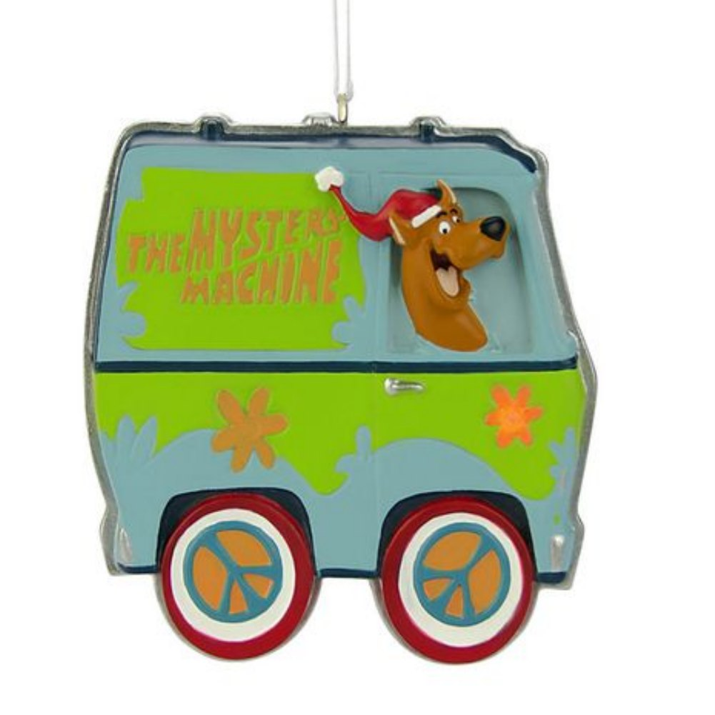 Scooby Doo Christmas Ornament Light Up Mystery Machine ...