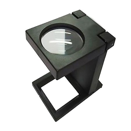 Illuminated Folding Magnifier Lens Loupe 3x Led Graphic