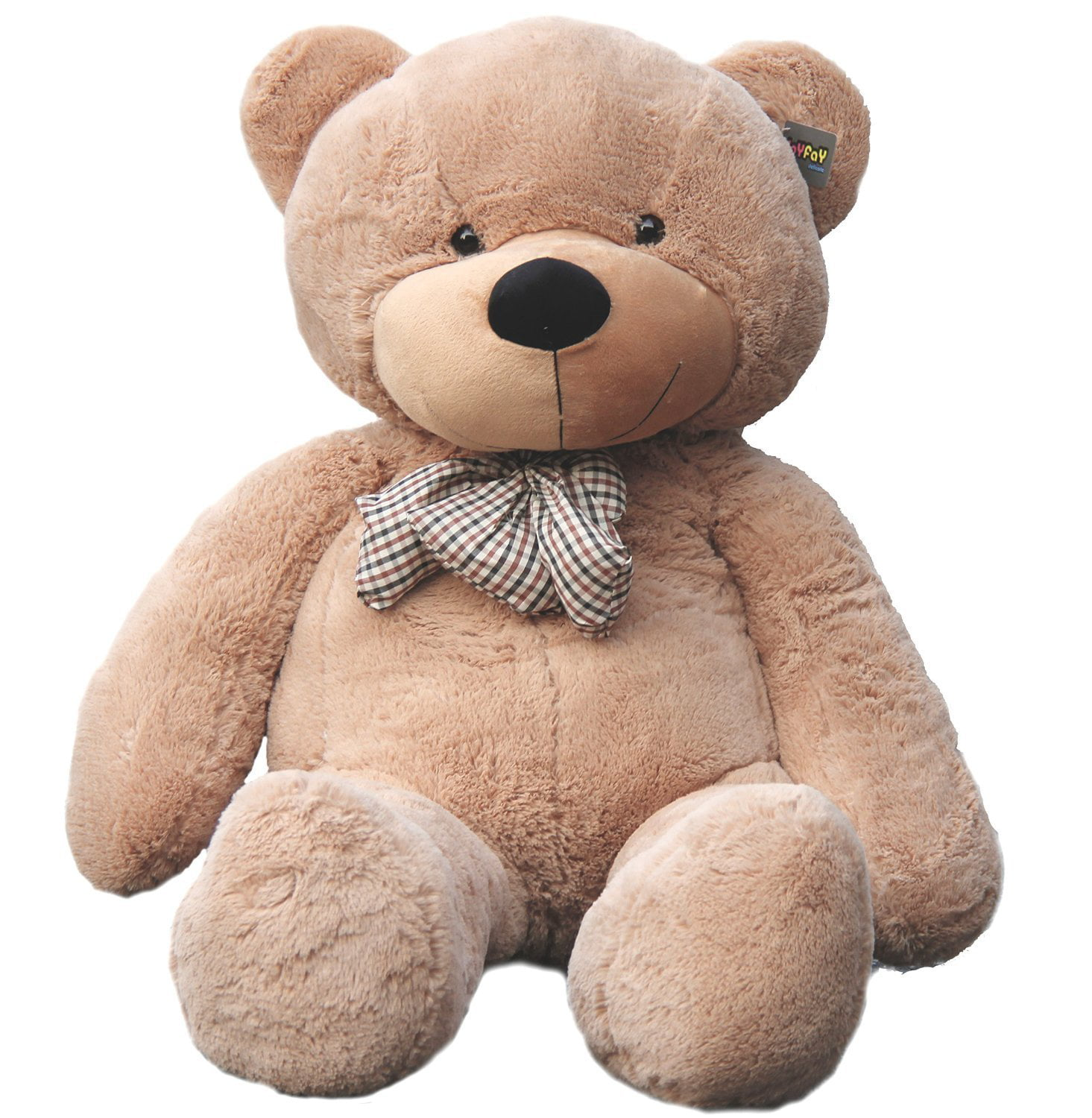 Joyfay Giant Teddy Bear in Light Brown- 5ft (63 inches) Big Teddy Bear for Birthdays,... by