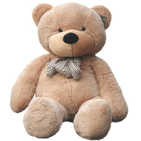 Joyfay Giant Teddy Bear in Light Brown- 5ft (63 inches) Big Teddy Bear for Birthdays, Christmas, Easter, Valentines and other - Giant Eraser