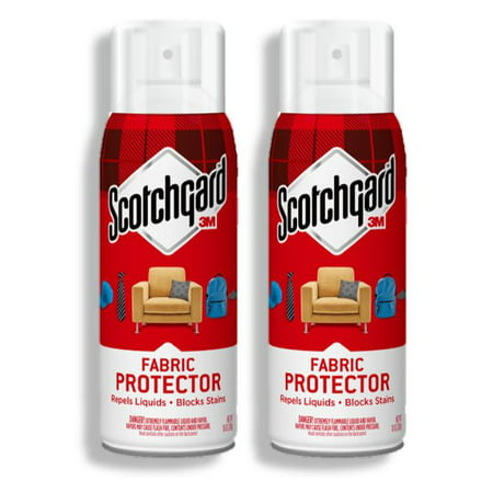 ((2 Pack) Scotchgard Fabric and Upholstery Protective Spray, 10.5 oz., 1 Can)