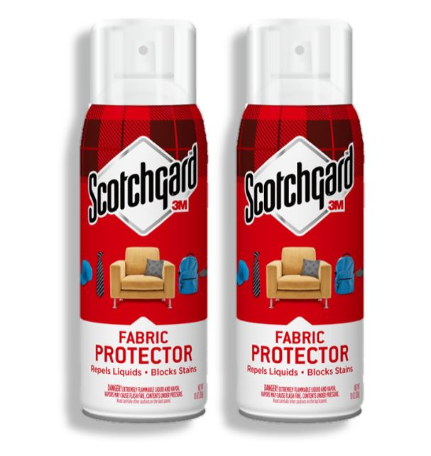 (2 Pack) Scotchgard Fabric and Upholstery Protective Spray, 10.5 oz., 1 Can