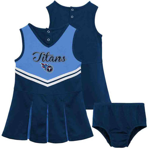 NFL Tennessee Titans Toddler Cheerleader Set