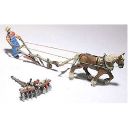 D210 Farmer w/Horse/Plow/Disc Mtl Kit