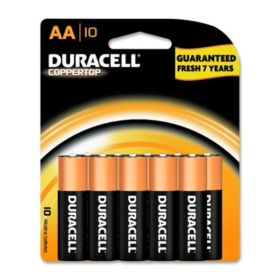 Duracell CopperTop General Purpose Battery DURMN1500B10Z