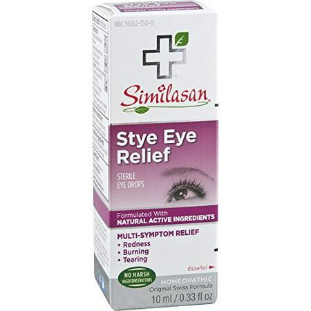 Similasan Stye Eye Relief Drops, 0.33 Ounce (Best Over The Counter Stye Medicine)
