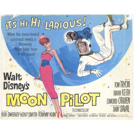 Moon Pilot POSTER Movie B Mini Promo