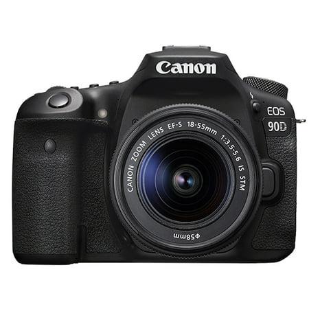 Canon EOS 90D 32.5MP 4K Digital SLR Camera with 18-55mm EF-S IS STM Lens