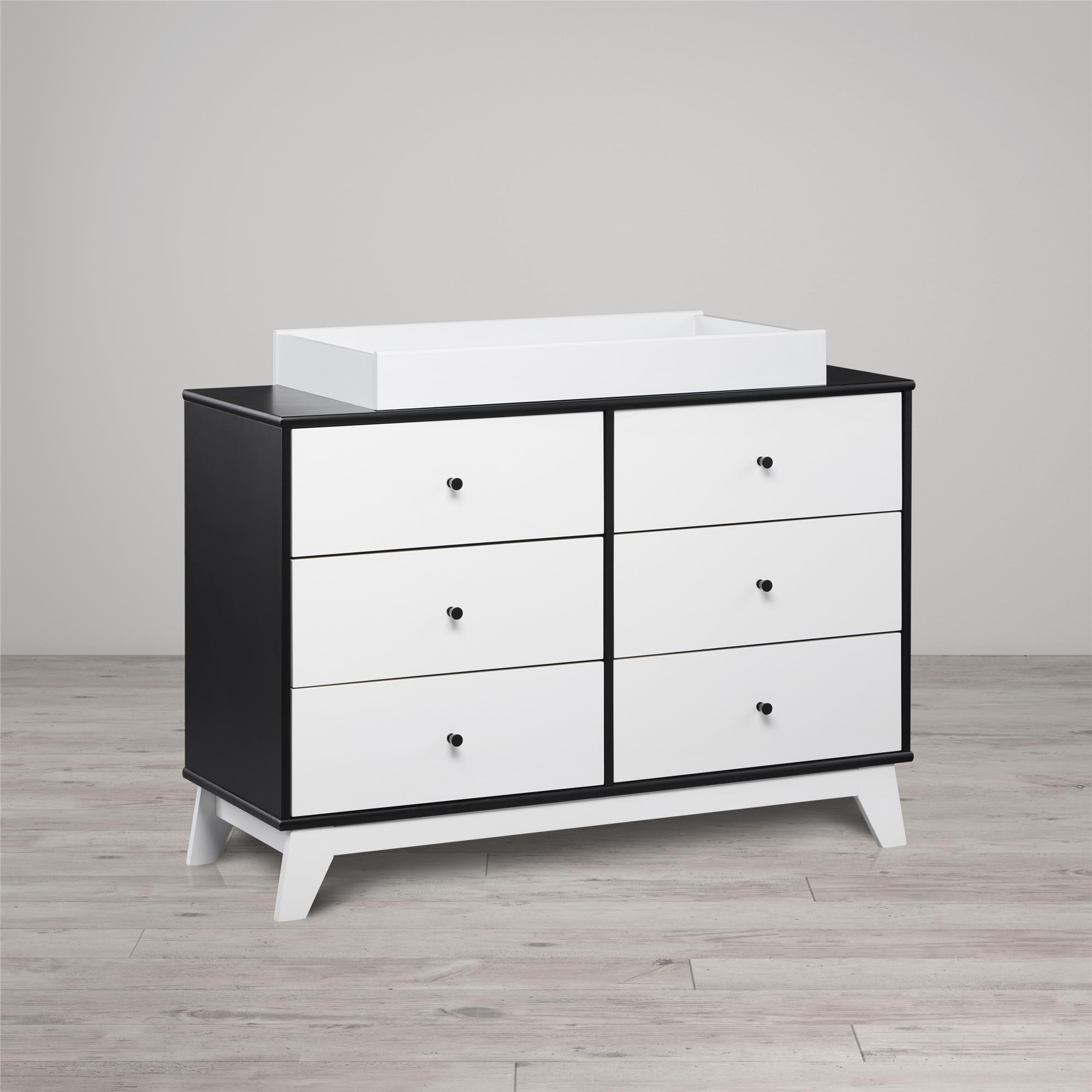 Little Seeds Rowan Valley Flint 6-Drawer Changing Table, Multiple Colors