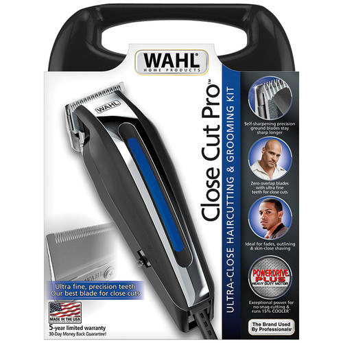 Wahl Home Products Close Cut Pro Haircutting & Grooming Kit, 13 pc