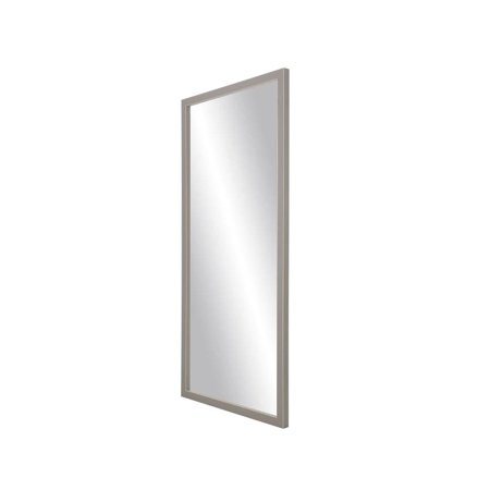 BrandtWorks Modern Matte Floor Mirror -  Gray