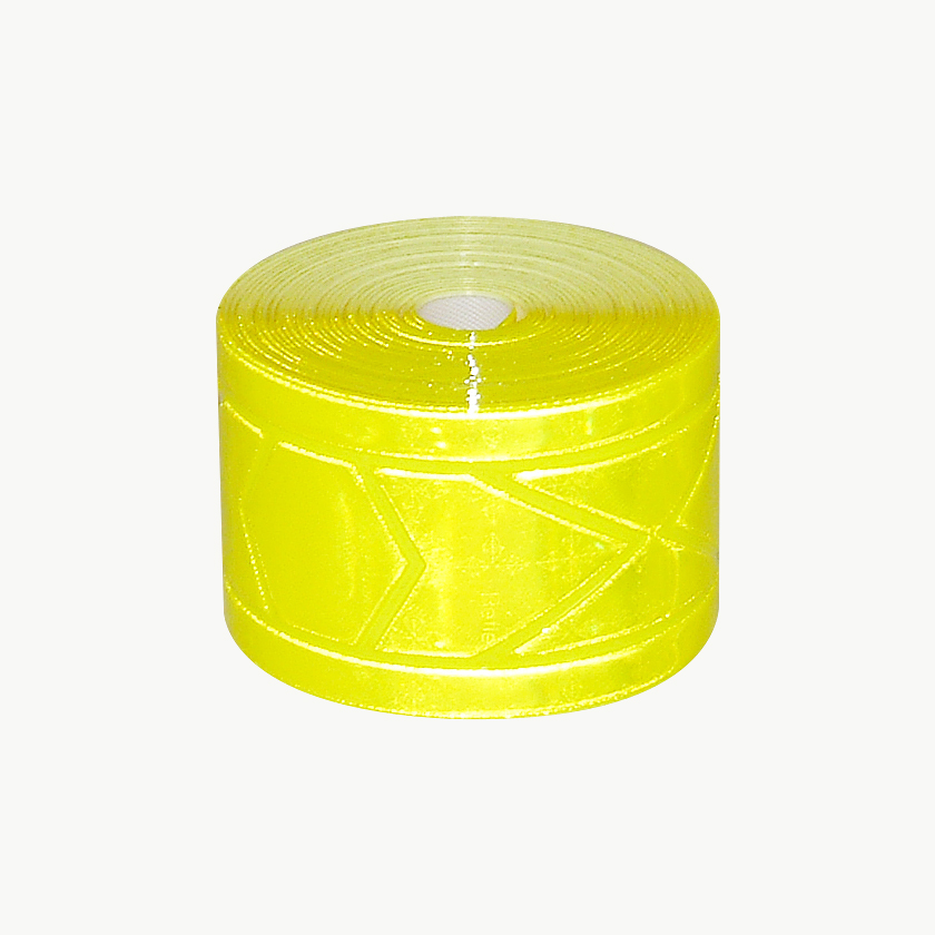 Oralite (Reflexite) GP-340 Garment Retroreflective Trim: 1-3/8 in. x 10 ft. (Fluorescent Lime Yellow)