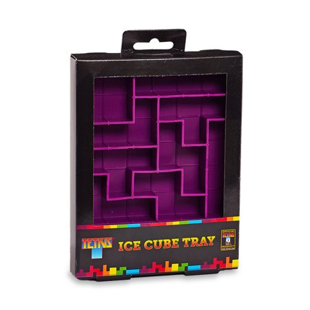 Tetris Ice Cube Tray Silicone Mold Man Video Game Jello Shot Drinkware