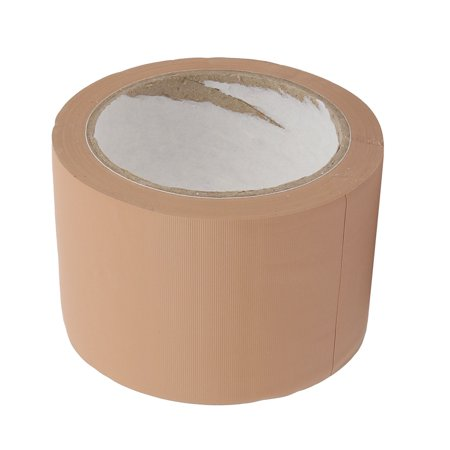 Single Sided PVC Sealing Adhesive Tape Easy-clean Brown 70mm Wide 22 Meters Long - image 1 of 3