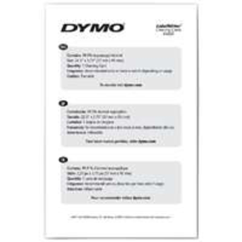DYMO PRINTER CLEANING CARD