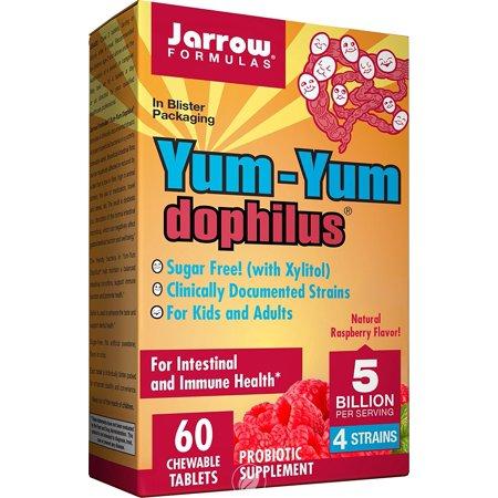 Jarrow Formulas Yum-Yum Dophilus 5 BILLION ORGANISMSPER LOZENGE 60 LOZENGES