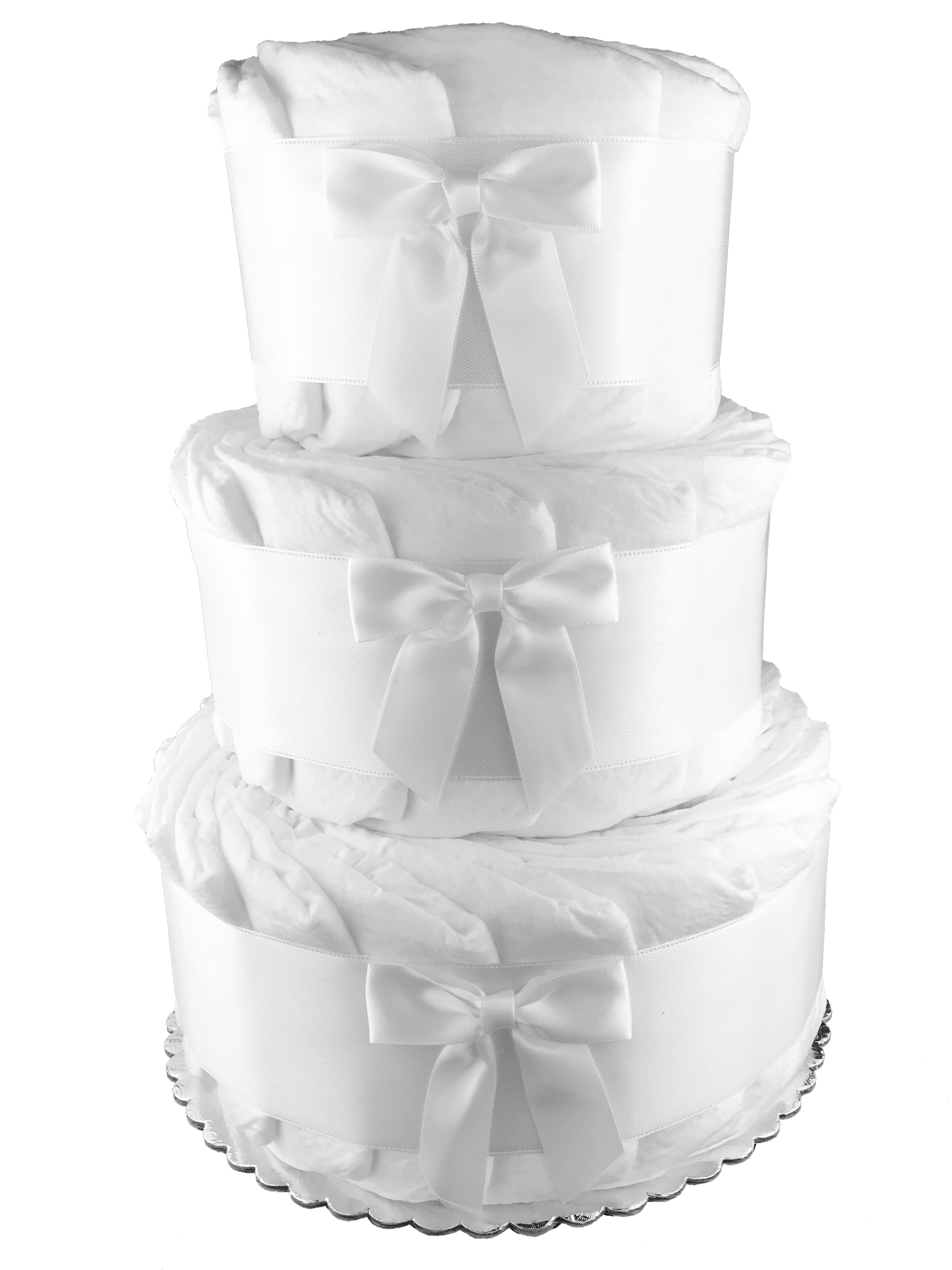 How to do a diaper cake for baby shower