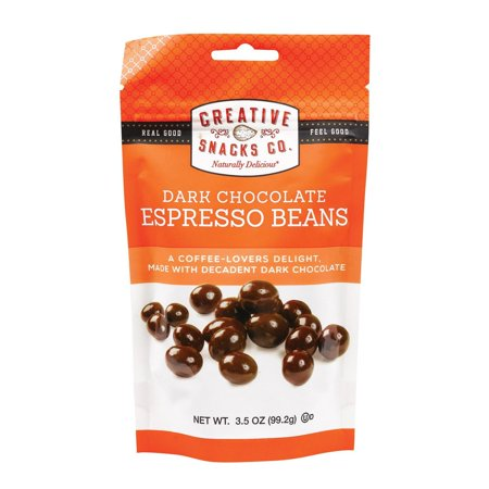 Creative Snacks Espresso Beans - pack of 6 - 3.5 Oz