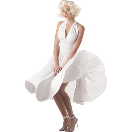 Marilyn Sassy Adult Halloween Costume](Andy Warhol Marilyn Monroe Costume)
