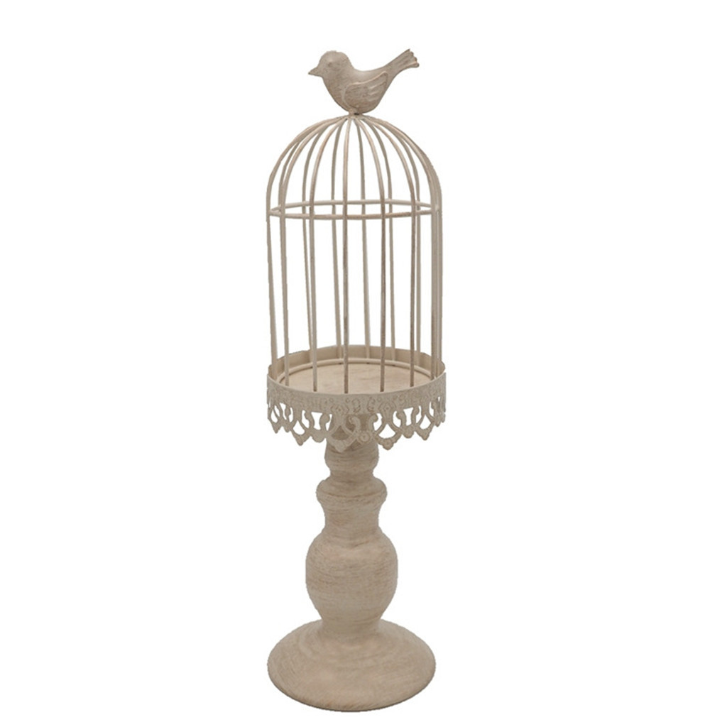 Birdcage Candle Holder Vintage Candle Stick Holders Wedding Candle Centerpiece Walmart Com Walmart Com