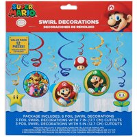 Super Mario Hanging Party Decorations, Party Supplies