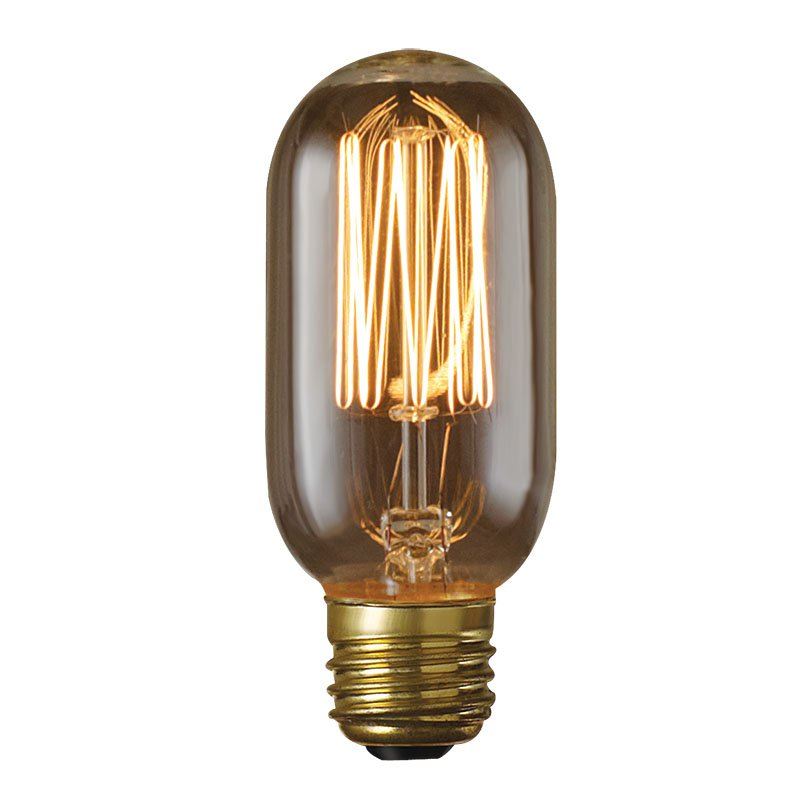 Bulbrite 40W Thread Filament T14 Incandescent Edison Light Bulb - 8 pk.