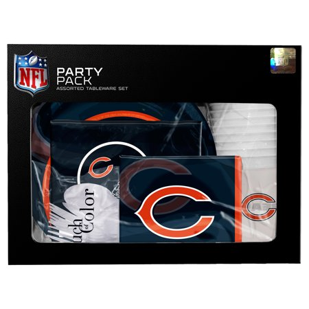 Chicago Bears Gameday Party Pack - No Size