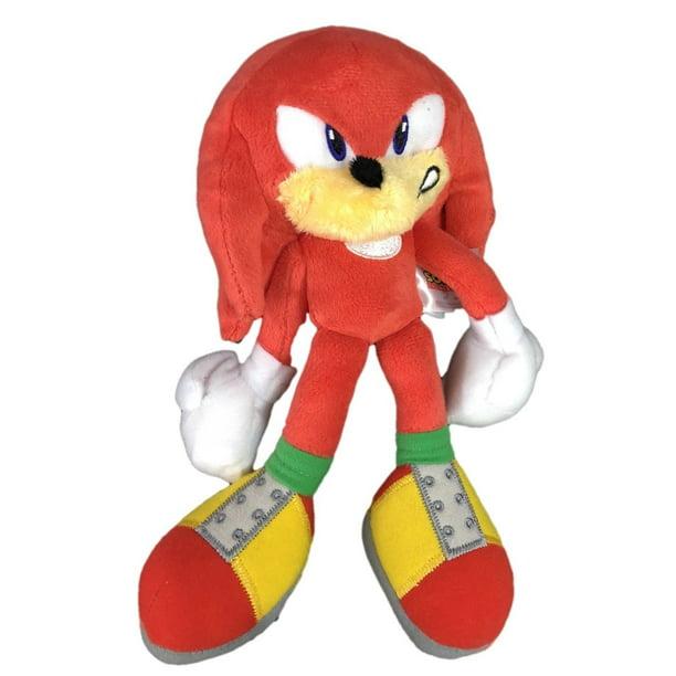 Plush Toy Sonic The Hedgehog Modern Knuckles 8 Inch Angry Walmart Com Walmart Com