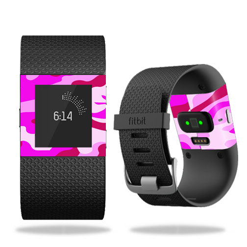 MightySkins Skin for Fitbit Charge 3 - Artic Camo | Protective, Durable, and Unique Vinyl Decal wrap cover | Easy To Apply, Remove, and Change Styles | Made in the USA