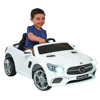 Mercedes 6 Volt SL-400 White Convertible