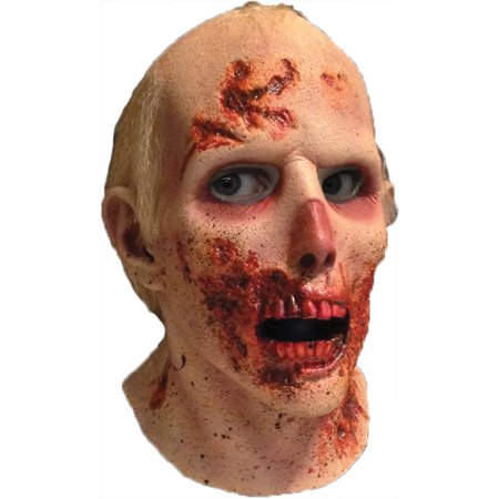 Walking Dead RV Screw Driver Latex Mask Adult Halloween Accessory](Rv Halloween)