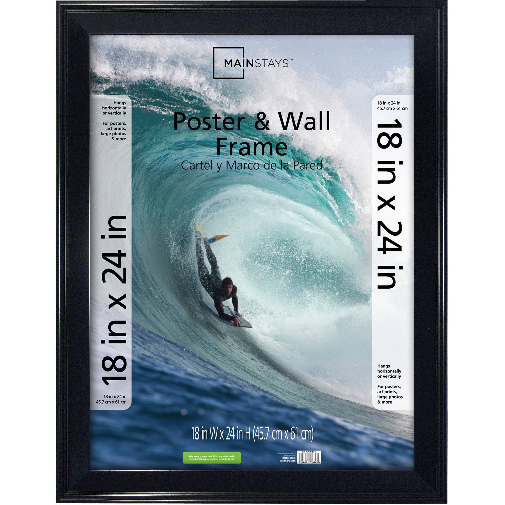 Mainstays 18x24 Casual Black Poster Frame
