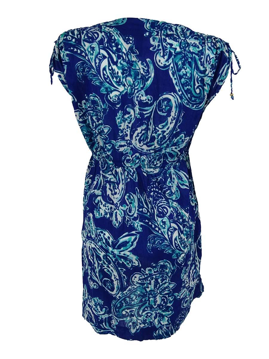 43b6467ccd8dc Lauren Ralph Lauren Women's Deauville Paisley Farrah Cover Up