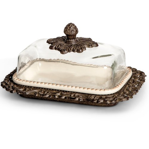 The GG Collection Ceramic Butter Dish