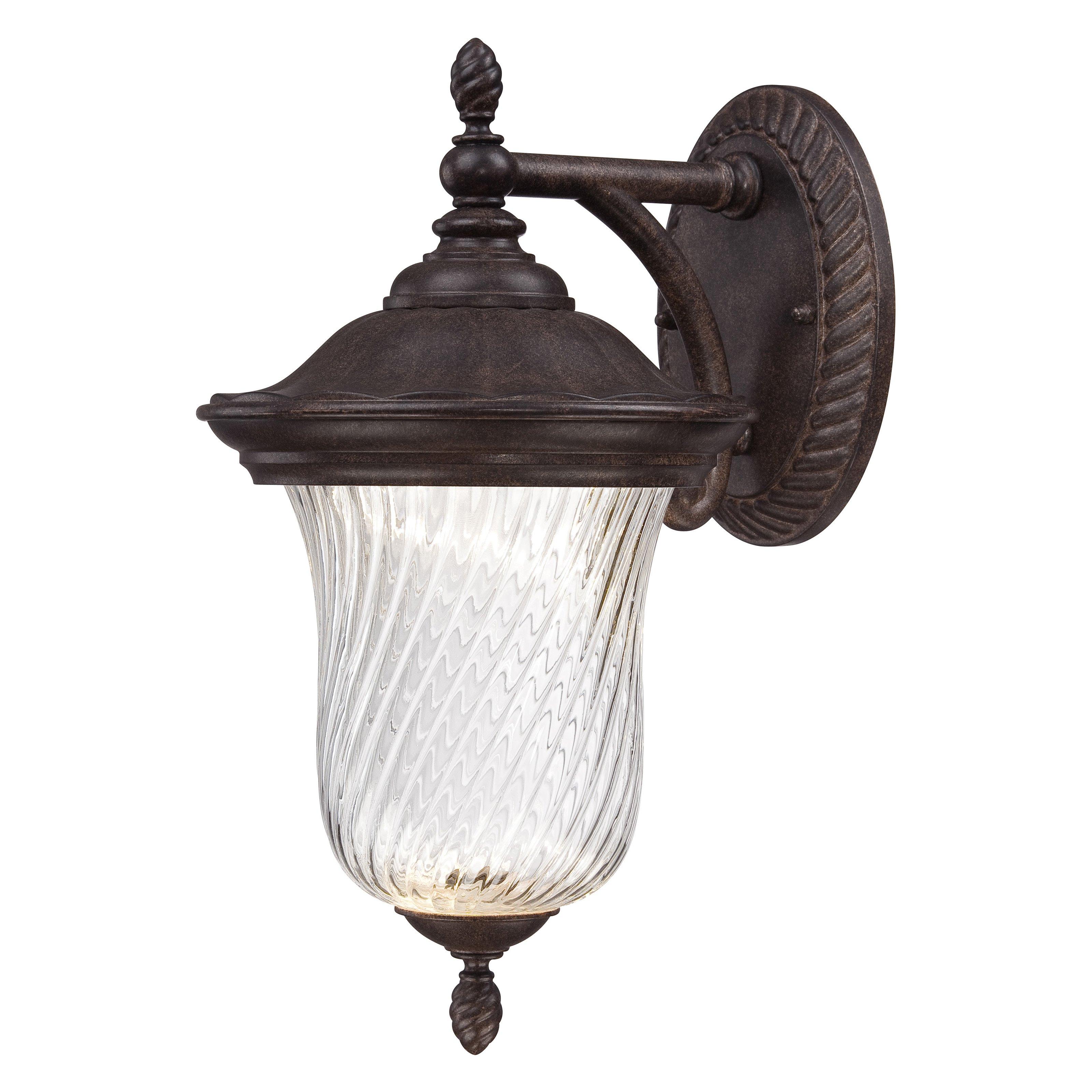 Designers Fountain Outdoor Wellington LED22021 Wall Lantern - Mystic Bronze