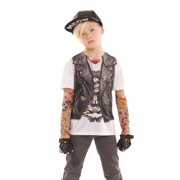 Faux Real F120576 Toddler Tattoo Vest Costume-4T