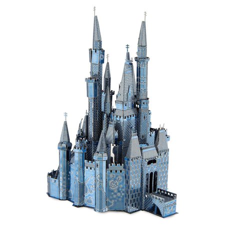 Disney Parks Cinderella Castle Two Toned Metal Earth Model Kit 3D