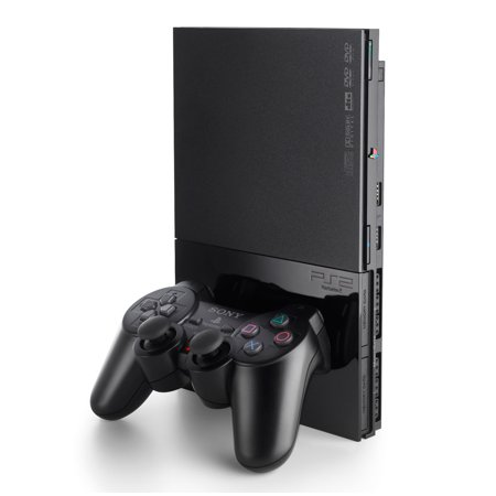 Refurbished Sony PlayStation 2 PS2 Slim Game Console ()