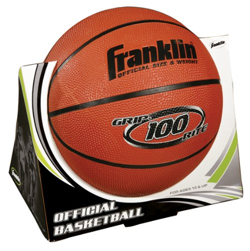 Franklin Official B7 Grip-Rite 100 Basketball ORANGE OFFICIAL SIZE