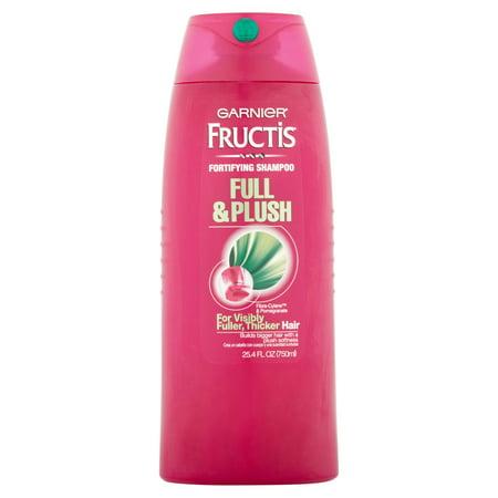 Garnier Fructis Full & Plush Fortifying Shampoo, 25.4 fl oz